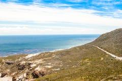 好望角。开普敦半岛大西洋。开普敦。南非 免版税图库摄影
