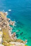好望角。开普敦半岛大西洋。开普敦。南非 免版税库存图片