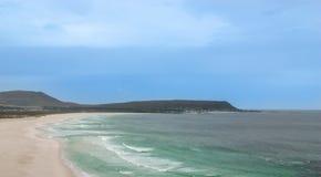 好望角。开普敦半岛大西洋。开普敦。南非 免版税库存照片