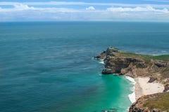好望角。开普敦半岛大西洋。开普敦。南非 库存照片