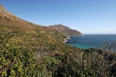 好望角在大西洋,在开普敦南部,南非 免版税库存图片