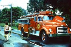 好极了消防车 免版税库存照片