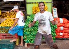 好果子在市场上 免版税库存照片