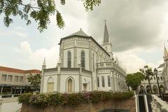 好牧羊人的大教堂在新加坡 库存图片