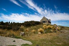 好牧羊人的教会在Lakepo 库存图片