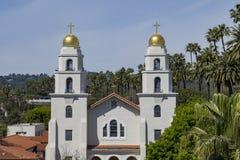 好牧羊人的教会比佛利山的 库存照片