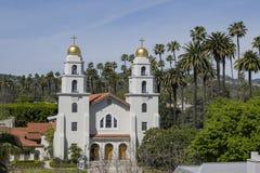 好牧羊人的教会比佛利山的 图库摄影