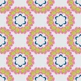 好的五颜六色的坛场 模式无缝的向量 向量例证