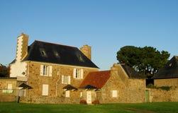 好的农村房子在欧洲 免版税库存照片