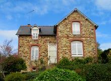 好的农村房子在欧洲 库存图片