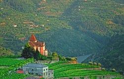 好的房子在葡萄牙 免版税库存图片