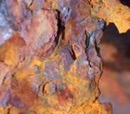 好的抽象背景-铁锈 免版税图库摄影