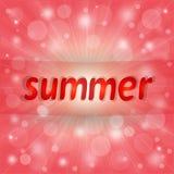 好的桃红色夏天背景 免版税库存照片