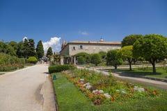 好的法国 Cimiez修道院庭院- 7 免版税库存照片