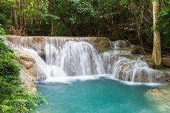 好的瀑布在泰国 免版税库存照片