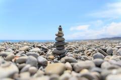 好的石头在法国的尼斯 免版税图库摄影