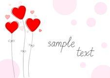 好的红色心脏为情人节 免版税库存图片