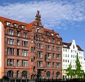 好的老房子在柏林 免版税库存照片