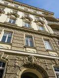 好的老房子在维也纳 库存照片