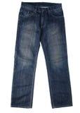 好的蓝色牛仔裤 免版税库存照片