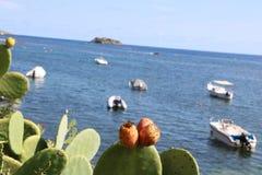 好的观点的伊维萨岛圣徒安东尼 图库摄影