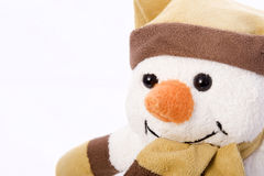 好的雪人 免版税库存照片