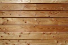 好的黄色木板条背景 库存照片