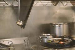 好的pic工业厨房元素工作 免版税库存图片