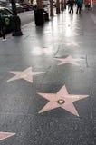 好莱坞名望步行  库存照片