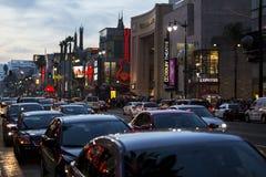 好莱坞大道。 免版税库存照片