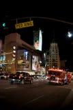 好莱坞大道的消防部门 免版税库存照片