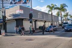 好莱坞大道,好莱坞, CA. 07-25-07 免版税库存图片