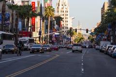 好莱坞大道,好莱坞, CA. 07-25-07 免版税库存照片