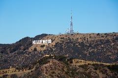好莱坞标志 库存照片