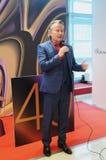 好莱坞演员演员约翰野人在莫斯科国际影片竞赛 库存照片