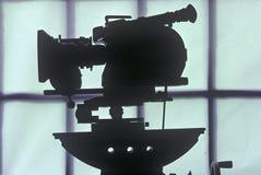 好莱坞电影工业的一台Arriflex 16mm电影照相机 免版税库存照片