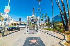 好莱坞眺望台的四个夫人 免版税库存图片