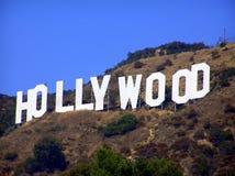 好莱坞符号,洛杉矶,美国 免版税库存图片