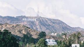 好莱坞符号 免版税库存照片