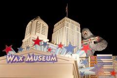 好莱坞蜡博物馆在皮容福格,田纳西 免版税库存图片