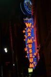 好莱坞蜡博物馆 免版税库存图片