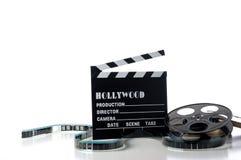 好莱坞项目电影 免版税库存照片