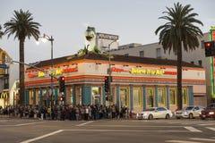 好莱坞高地美国 免版税库存图片