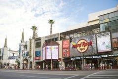 好莱坞,洛杉矶 免版税图库摄影