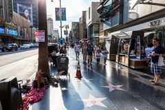 好莱坞,洛杉矶 库存照片