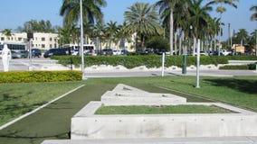 好莱坞-结构在公园 免版税库存图片