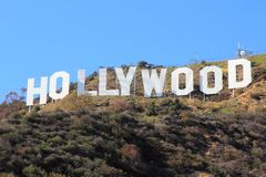 好莱坞 免版税库存照片
