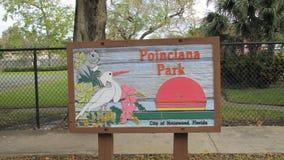 好莱坞- Poinciana公园城市 库存照片