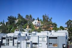 好莱坞Hills洛杉矶 库存图片