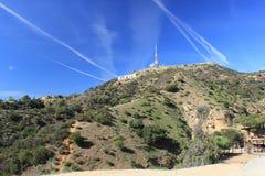好莱坞Hills 免版税库存照片
